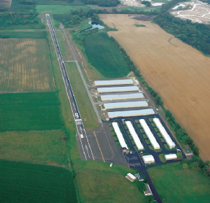 Aerial View of Galt Airport